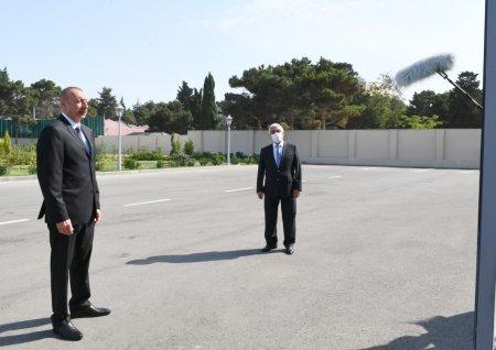 İlham Əliyev açılışa qatıldı -