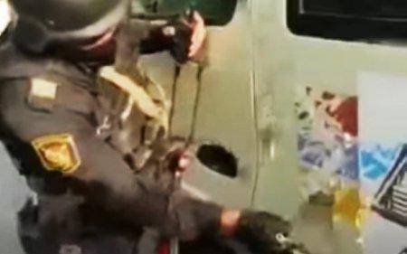 Polisimizdən erməniyə süngülü dərs -